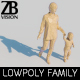 Lowpoly Family 002