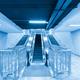 escalator motion blur in underpass - PhotoDune Item for Sale