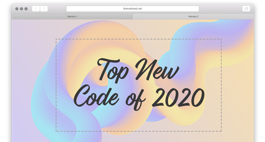 Top New Code of 2020