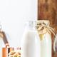 Cashew nut milk in bottles - PhotoDune Item for Sale