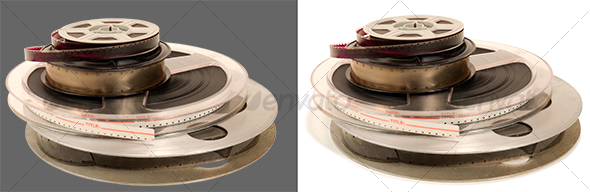 Four 8 and 16mm films - Technology Isolated Objects