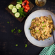 Bulgur pilaf with meat and and vegetables. - PhotoDune Item for Sale