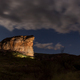 Brandwag Buttress at night, lit by floodlights, in Golden Gate - PhotoDune Item for Sale