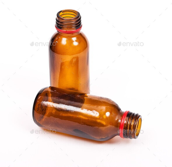 Empty bottles - Stock Photo - Images