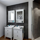 Interiors of a Modern Bathroom With Wood Floor - PhotoDune Item for Sale