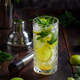 Mojito cocktail made with barmen tools - PhotoDune Item for Sale