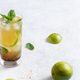 Homemade refreshing mojito cocktail in a tall glass - PhotoDune Item for Sale