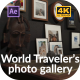 World Traveler's Photo Gallery - VideoHive Item for Sale