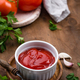 Fresh homemade tomato sauce with garlic - PhotoDune Item for Sale
