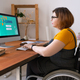 E-learning for disabled people - PhotoDune Item for Sale