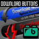 24 Clean Download Buttons - GraphicRiver Item for Sale