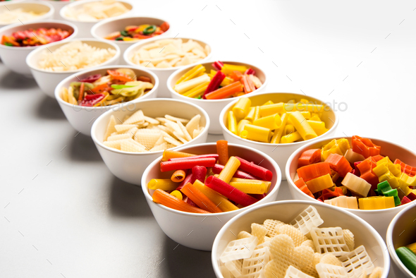 Raw Snack Pellets - Stock Photo - Images