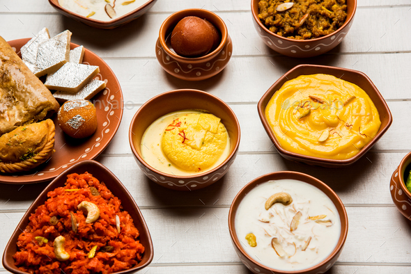 Assorted Indian Sweets - Stock Photo - Images