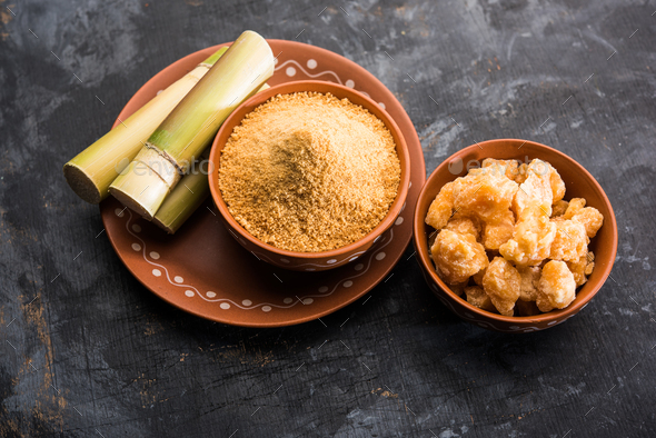 Jaggery Powder - Stock Photo - Images