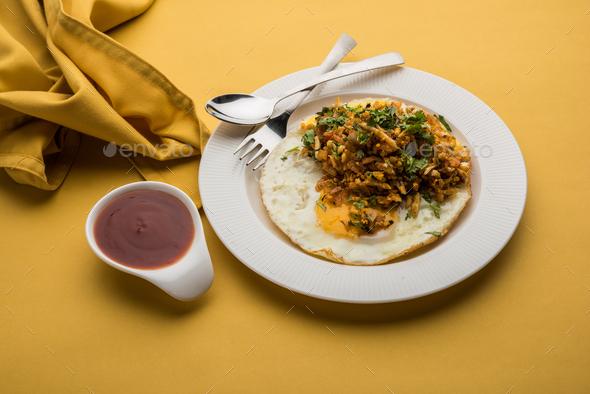 Egg Ghotala / Anda Ghotala - Stock Photo - Images