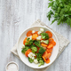 Mix of boiled vegetables. Broccoli, carrots, cauliflower. Steamed vegetables - PhotoDune Item for Sale