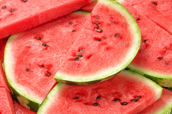 Sliced watermelon - Stock Photo - Images