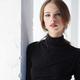 Portrait of brunette slim woman in black clothing. - PhotoDune Item for Sale