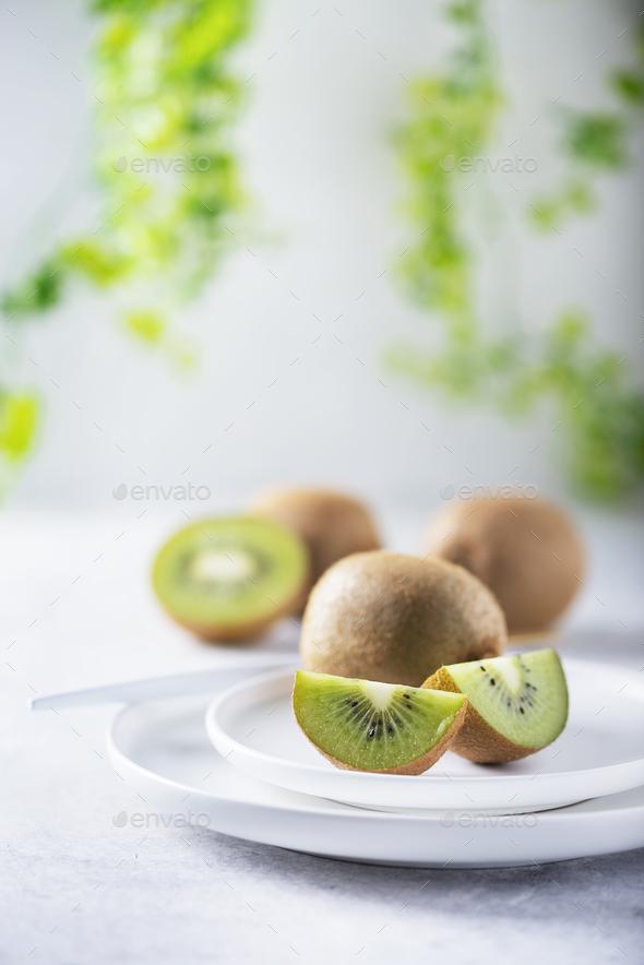 Fresh sweet kiwi - Stock Photo - Images