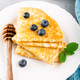 Delicious Tasty Homemade crepes or pancakes - PhotoDune Item for Sale
