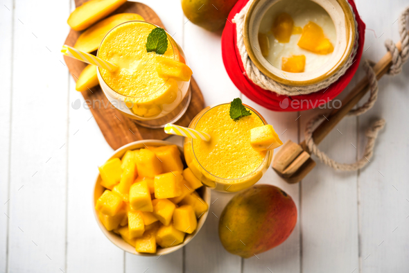 Mango Lassi - Stock Photo - Images