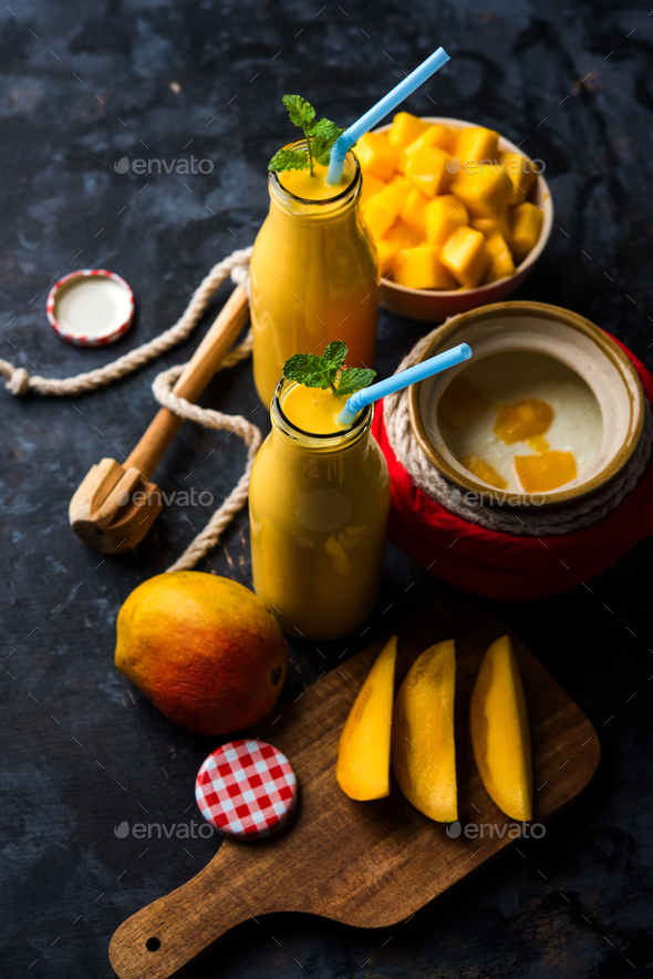 Mango Lassi - Stock Photo - Images
