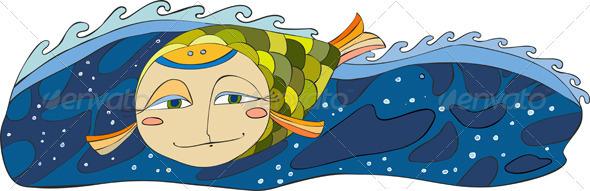 Fish Sea Isplated - Animals Characters