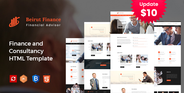 Beirut : Finance and Consultancy Template