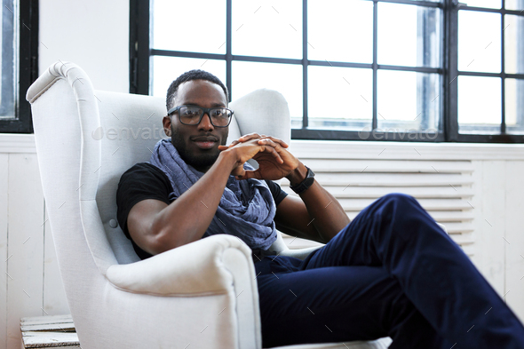 African american man - Stock Photo - Images