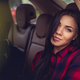 Brunette girl in a car. - PhotoDune Item for Sale