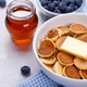 Mini pancakes with blueberries - PhotoDune Item for Sale