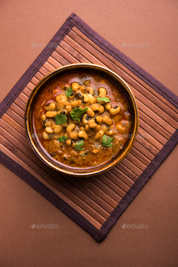 Chawli Curry - Stock Photo - Images