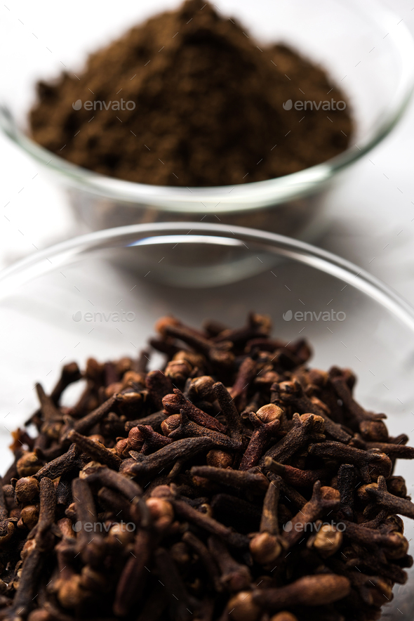 Clove Powder - Stock Photo - Images