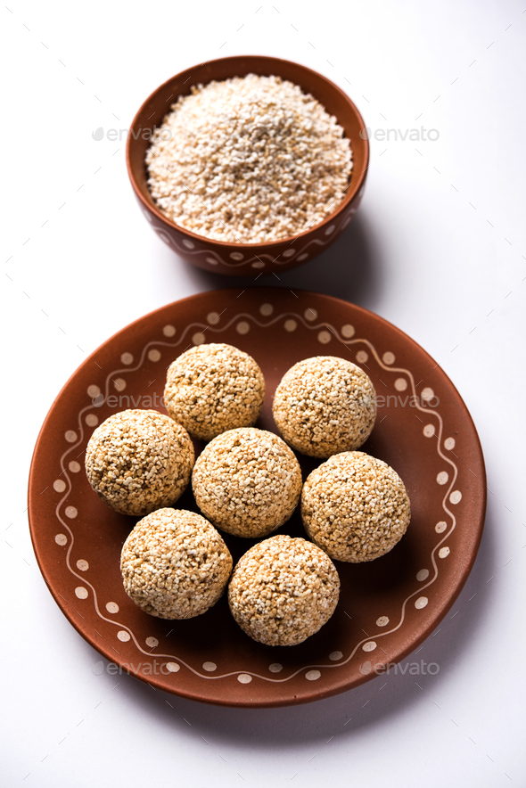 Amaranth or Rajgira Lahi - Stock Photo - Images