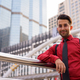 Young handsome Persian businessman exploring the city - PhotoDune Item for Sale