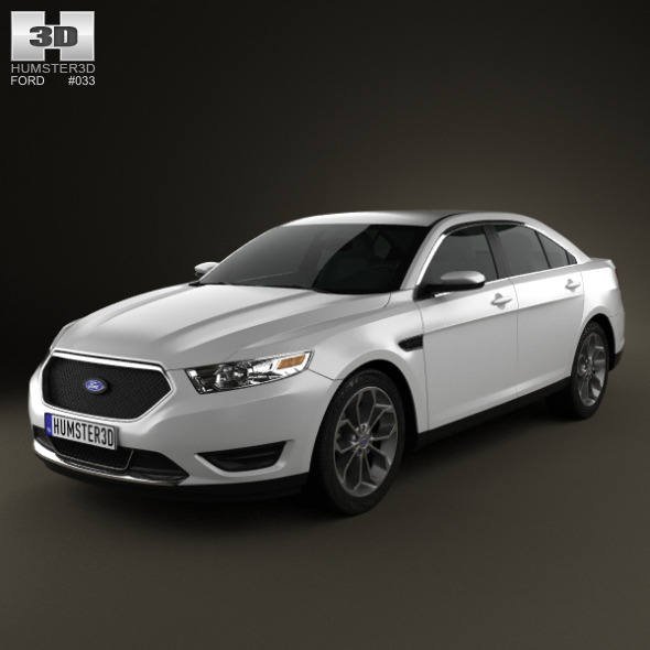 Ford Taurus SHO 2013 - 3DOcean Item for Sale