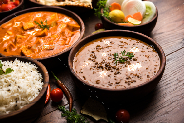 Indian Meal - Stock Photo - Images