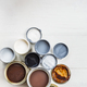 Open Cans of Different Paints, Varnish and Stain - PhotoDune Item for Sale