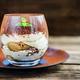 Traditional Italian dessert Tiramisu in a Glass Jar - PhotoDune Item for Sale