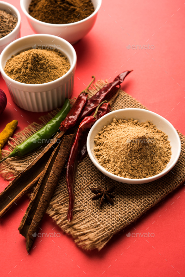 Garam Masala / Indian Spices - Stock Photo - Images