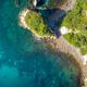 aerial view of Hahei Beach New Zealand - PhotoDune Item for Sale