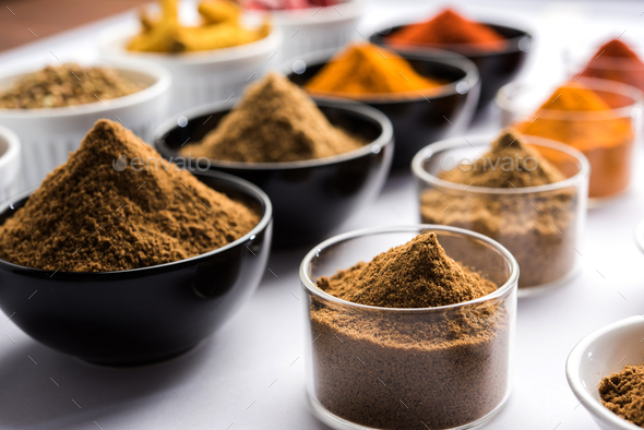 Four Spices - Stock Photo - Images