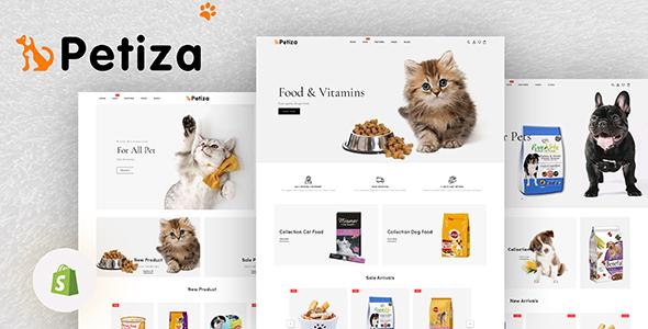 Petiza – Pets Food Shop Responsive Shopify Theme
