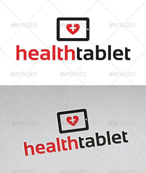 Health Tablet Logo - Objects Logo Templates