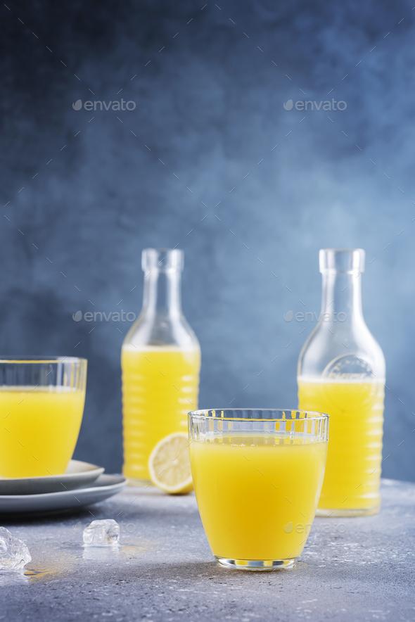 fresh homamade lemonade - Stock Photo - Images