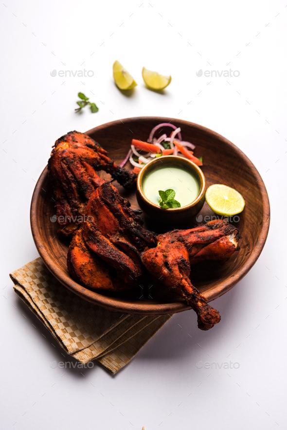 Tandoori Chicken - Stock Photo - Images