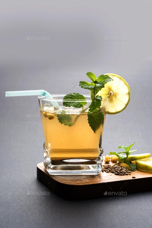 Jal-Jeera Or Jaljira Drink - Stock Photo - Images