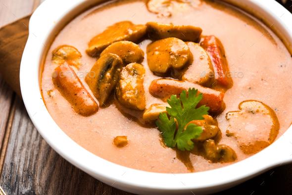 Mushroom Curry - Stock Photo - Images