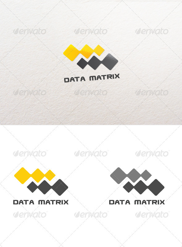 Data Matrix - Vector Abstract