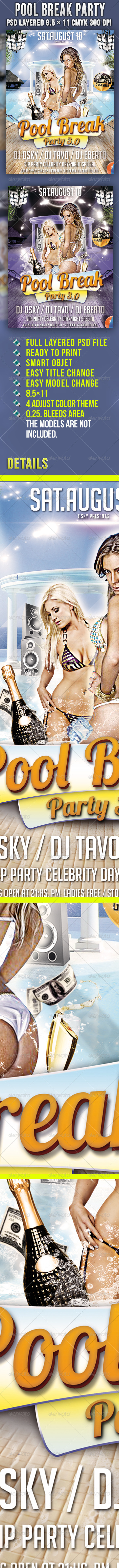 Pool Break Party - Clubs & Parties Events